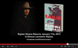 Elmore Leonard talks about his book  Raylan    YouTube