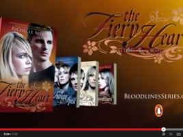 FIERY HEART   official book trailer   YouTube